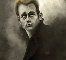 James Dean by Sabina Nore