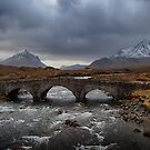 Old Sligachan Bridge, Isle of Skye, Scotland by Bob Culshaw