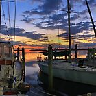 marina morning colors by cliffordc1