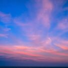 The Resolution of the Dream - The sky at the sunset. by vampyba