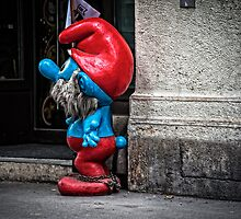 Papa Smurf Chained by Witold Skrzypiński