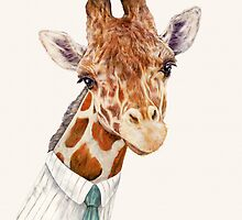Male Giraffe by AnimalCrew