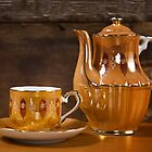 Teapot and Teacup by homendn