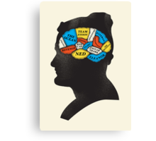 Zissou_Phrenology Canvas Print