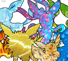 """The Dream Team"" - X & Y Eeveelutions Sticker"