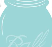 Lovely Mason Jar Sticker