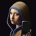 Girl without a pearl earring by Alcoz