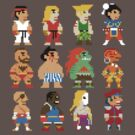 8 Bit Street Fighter by thedoormouse