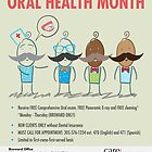 Oral Health Month Print Ad by omar305