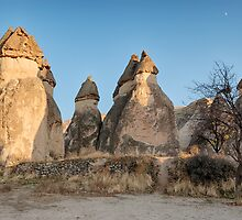 Fairy Chimneys, Cappadocia, Turkey by Bob Culshaw