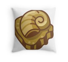 Almighty Helix Fossil Throw Pillow