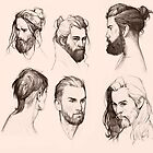 Manly men wear beard by kasiaslupecka