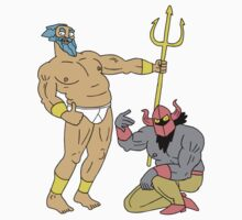 Bro Gods - Poseidon and Hades by brogods