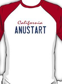 Arrested Development - ANUSTART License Plate T-Shirt
