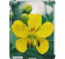Two Yellow Flowers iPad Case/Skin