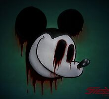 Suicide Mouse by steeleart