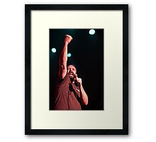 Neil Fallon of Clutch - Sydney, Feb 2014 Framed Print