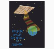 Belgian spaceship holding the world to ransome.  by funkyworm