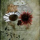 Flower Skull V4 by BluAlien