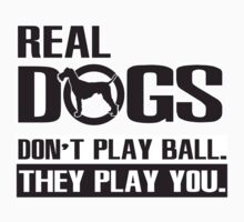 Real dogs play you! by nektarinchen