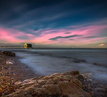 Twilight At The Lifeboat by manateevoyager
