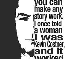 saul goodman breaking bad Kevin Costner by vinnie107