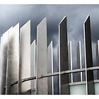 Spires of Steel by Michel Godts