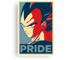 Vegeta's pride! Canvas Print
