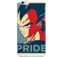 Vegeta's pride! iPhone Case/Skin