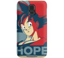 goku is our only HOPE! Samsung Galaxy Case/Skin