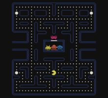 Pacman invaders  by cbrothers