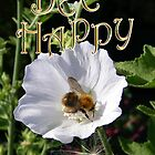 Bee Happy .. card by LoneAngel