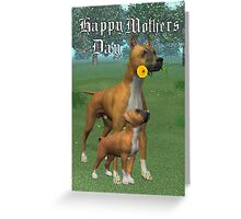 Happy Mothers day .. card Greeting Card