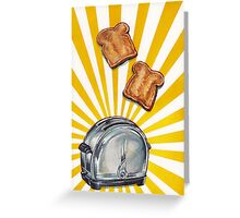 Toast and Toaster Greeting Card