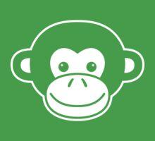 Cute Monkey Face by Arian-Arben