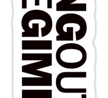 Pulp Fiction - Bring Out The Gimp Sticker