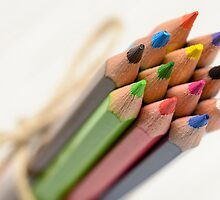 Colored Pencils by saaton