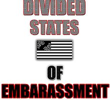 Divided States Of Embarassment by GetRealClothing