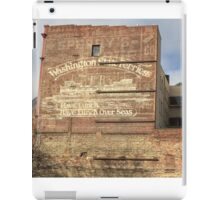 Washington State Ferries Brick Wall iPad Case/Skin
