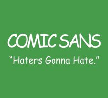 Comic Sans Font by LiamNeesons