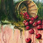 Don't Cry Over Spilt Apples by Jim Phillips