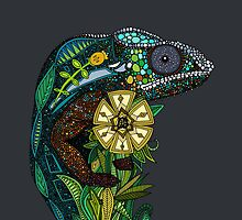 chameleon pewter by Sharon Turner