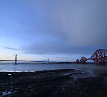 Both Forth Bridges by Pete Johnston