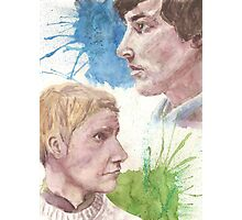 The Detective and The Doctor Photographic Print