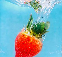 Diving Strawberry by MMPhotographyUK