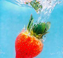 Diving Strawberry by MMPhotographyUK