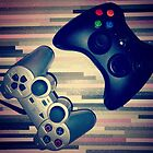 Console Yourself - PS2 & Xbox 360 Controllers by BW303-Gaming