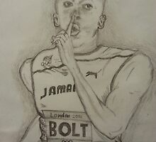 Usain Bolt by Collin Clarke BSc