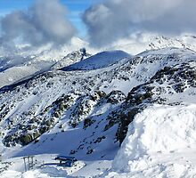 Blackcomb Mountain by Charles Kosina