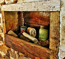 A Window Into The Past by EBArt